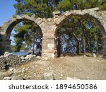 Remains Of The Roman Aqueduct...