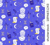 vector seamless pattern with... | Shutterstock .eps vector #1894651243