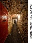 basement of tenement house in... | Shutterstock . vector #189466193