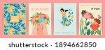 international women s day. set... | Shutterstock .eps vector #1894662850
