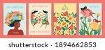 international women s day. set... | Shutterstock .eps vector #1894662853