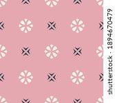 raster geometric floral...   Shutterstock . vector #1894670479
