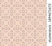 raster geometric ornamental...   Shutterstock . vector #1894671673