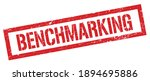 benchmarking red grungy...   Shutterstock . vector #1894695886