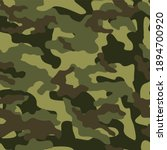 army camouflage vector seamless ... | Shutterstock .eps vector #1894700920