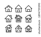 house icon or logo isolated... | Shutterstock .eps vector #1894759390