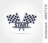 race flag vector  start... | Shutterstock .eps vector #189477170