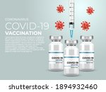 coronavirus vaccine banner... | Shutterstock .eps vector #1894932460