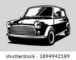 Car Vehicle Mini Cooper Black...