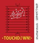 Touchdown  American Football ...