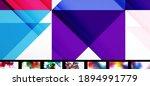 mega set of various abstract... | Shutterstock .eps vector #1894991779