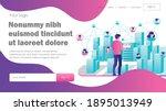 flat concept isometric...   Shutterstock .eps vector #1895013949