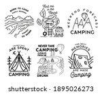 vintage simple camp logo...   Shutterstock .eps vector #1895026273