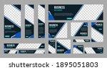 set of profesional business... | Shutterstock .eps vector #1895051803