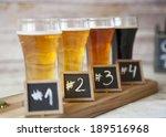beer tasting  | Shutterstock . vector #189516968