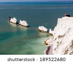 the needles rock formation on... | Shutterstock . vector #189522680