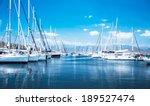 Sailboat Harbor  Many Beautifu...