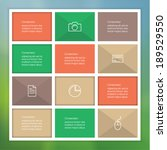 vector creative template with...