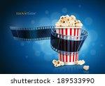 Camera Film Strip And Popcorn...