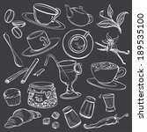 doodle illustrations of...   Shutterstock .eps vector #189535100