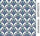 art deco seamless pattern in...   Shutterstock .eps vector #1895402176