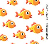 goldfish background | Shutterstock .eps vector #189542240