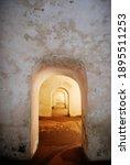 Series Of Arched Doorways In...