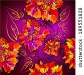 seamless background of... | Shutterstock .eps vector #189551828