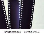 photographic film strip | Shutterstock . vector #189553913