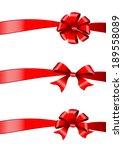 bows design | Shutterstock .eps vector #189558089