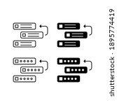 backlog vector icon... | Shutterstock .eps vector #1895774419