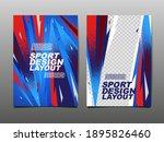 sport design layout  template... | Shutterstock .eps vector #1895826460