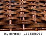 Rattan Wicker Texture With...