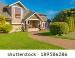 luxury house in vancouver ... | Shutterstock . vector #189586286
