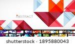 geometric minimal abstract... | Shutterstock .eps vector #1895880043