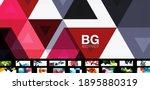 geometric minimal abstract... | Shutterstock .eps vector #1895880319