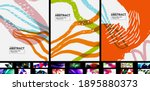 geometric minimal abstract... | Shutterstock .eps vector #1895880373