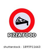 food pizza icons  simple ...