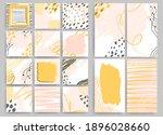 trendy fashion square color... | Shutterstock .eps vector #1896028660