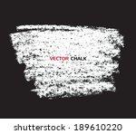 chalk texture grungy banner....   Shutterstock .eps vector #189610220