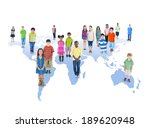 group of children | Shutterstock . vector #189620948