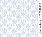art deco seamless floral...   Shutterstock .eps vector #1896210976
