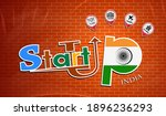 startup  design made from the... | Shutterstock .eps vector #1896236293