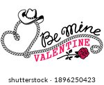 Cowboy Valentine Day Country...