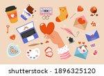 illustrations for valentine's...   Shutterstock .eps vector #1896325120