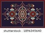 rectangular design for carpet...   Shutterstock .eps vector #1896345640