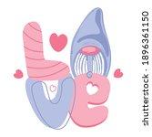 holidays lettering love ...   Shutterstock .eps vector #1896361150