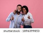 We Like It. Happy Black Couple...