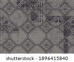 artistic traditional motifs... | Shutterstock .eps vector #1896415840