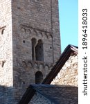 Romanesque Bell Tower And Part...